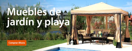 muebles de jardín y playa - walmart - Muebles Jardin