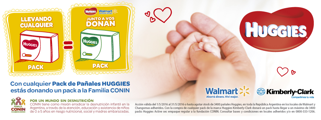 HUGGIES CONNIN