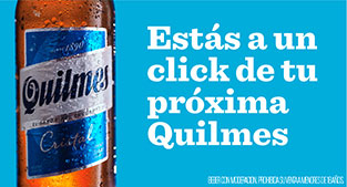 Banner QUILMES