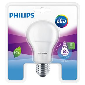 Lampara Led Philips Bulb 13 100W Fria