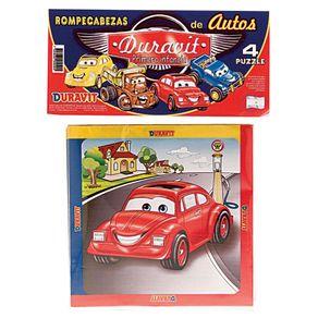 Puzzle-Infantil-Cars-Duravit-X4-Piezas-1-2678