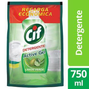 Detergente-Lavavajilla-Active-Gel-Lima-Verde-Cif-750-Ml-1-12629