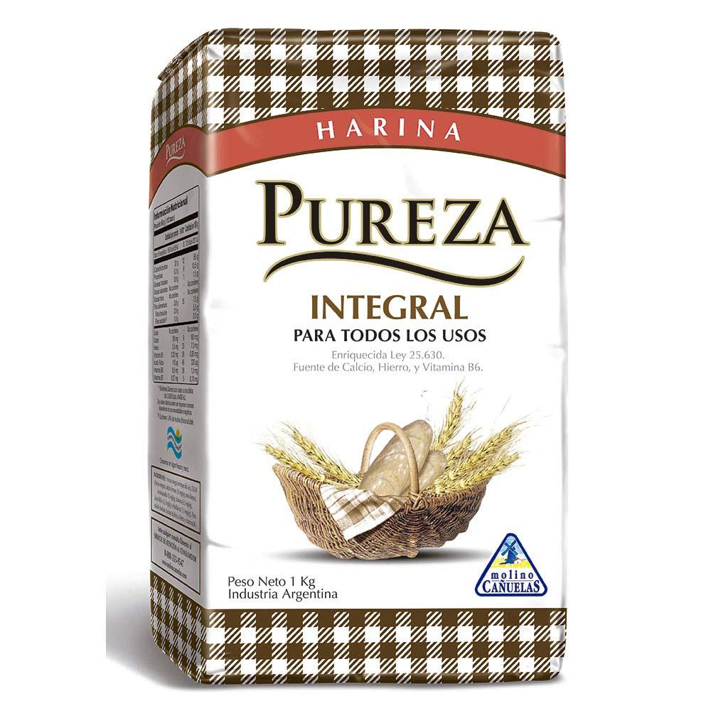 Harina integral Pureza 1 Kg