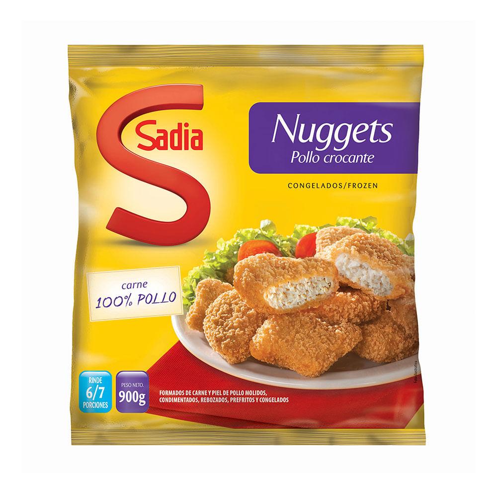 Nuggets de pollo crocante 900 grs sadia