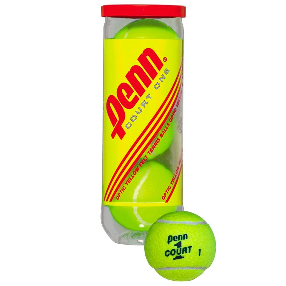 7490e99f7 Tubo Pelotas De Tenis Penn Court One - Walmart - WalmartAr