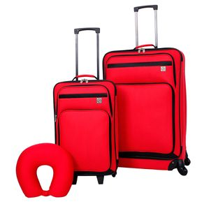 566f91502 3.999 $ 5.799 ( x ) Ahorrás 31% Set De Valijas Protege X 3 Rojo Wpillo
