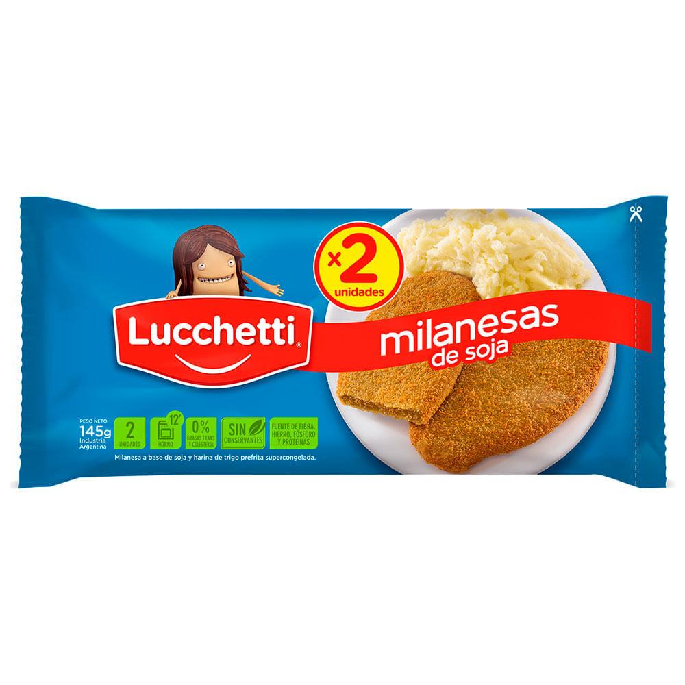 Milanesa de soja Lucchetti 2 uds
