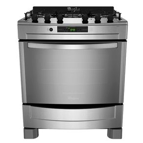 37.999 ( X ) Cocina Whirlpool 76cm Inox Wf876xg