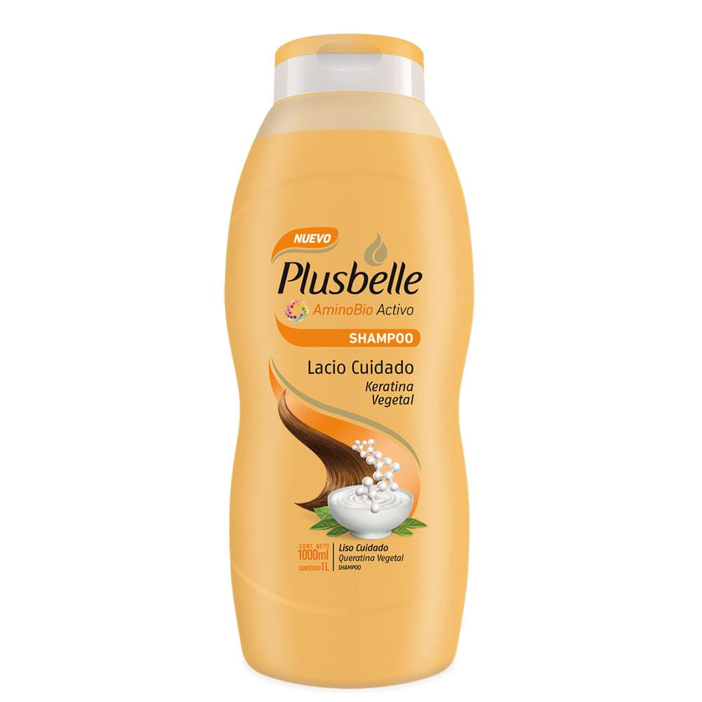 Shampoo Plusbelle lacio 1 Lts | Mercanet Tucumán