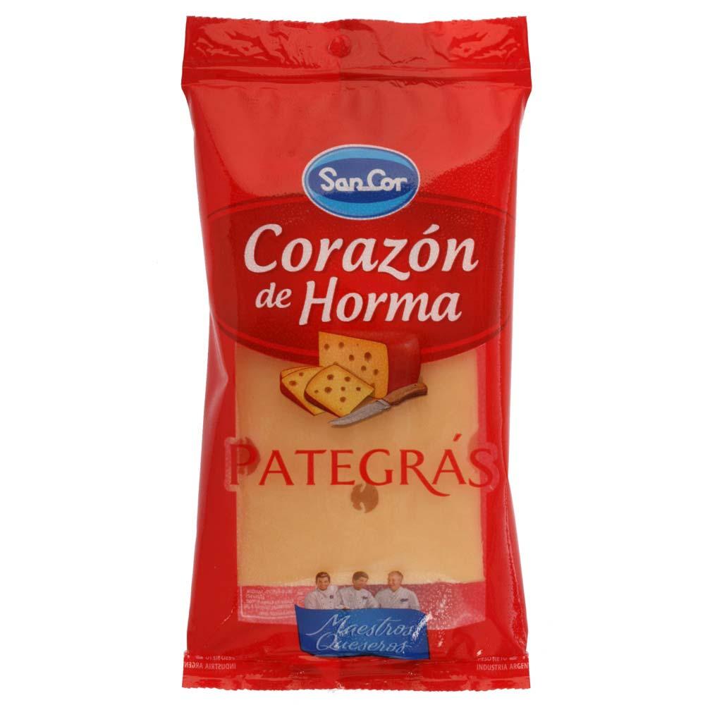 Queso pategra Sancor 240 grs (preenvasado)
