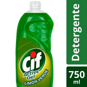 Lavavajilla-Active-Gel-Limon-Verde-Cif-750-Ml-1-64439