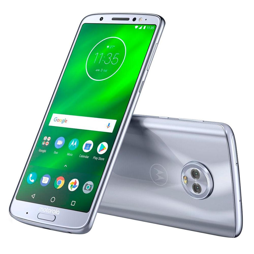 7ec0213e50b Celular Libre Moto G6 Plus Nimbus - Walmart - WalmartAr