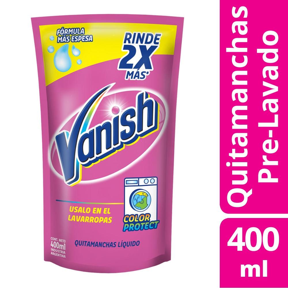0ed391cae Quitamanchas Líquido Vanish Multiuso Repuesto 400 Ml - Walmart ...