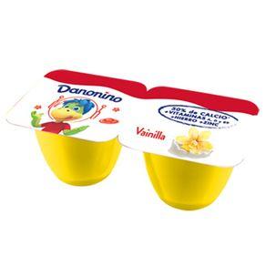 Yogur Danonino vainilla 161 grs