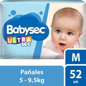 Pañales-Ultraprotect-Hiperpack-M-Babysec-52-Un-1-65222