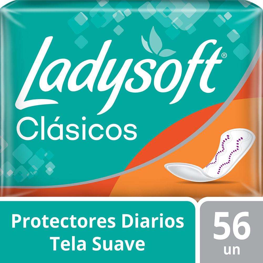 Protector diario LadySoft clasic diseño 56 uds