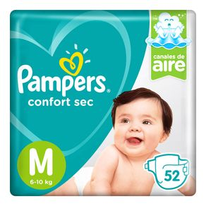 Pañales-Confort-Sec-M-Pampers-52-Unidades--1-35125