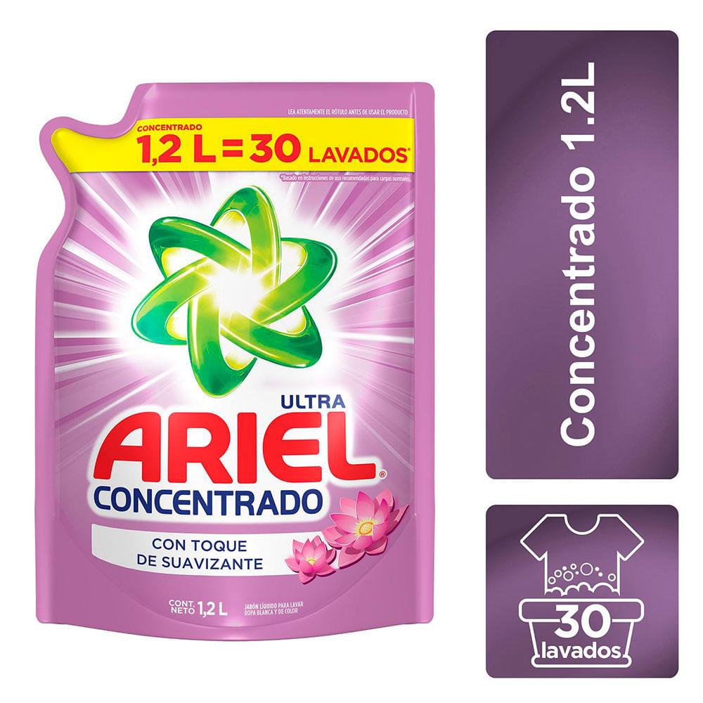 e5c273db1 Jabón Líquido Para Ropa Ariel Concentrado Con Toque De Suavizante 1 ...