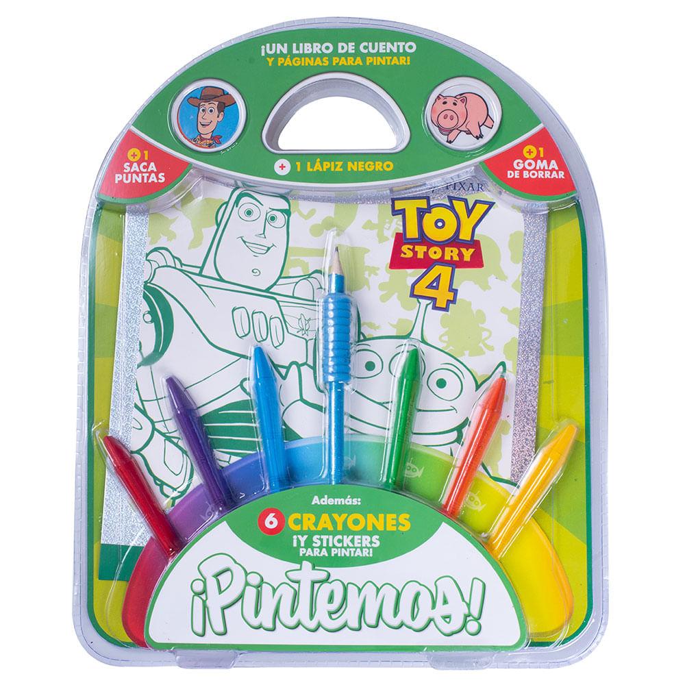 Set Para Colorear Pintemos Toy Story 4 Walmart Walmartar