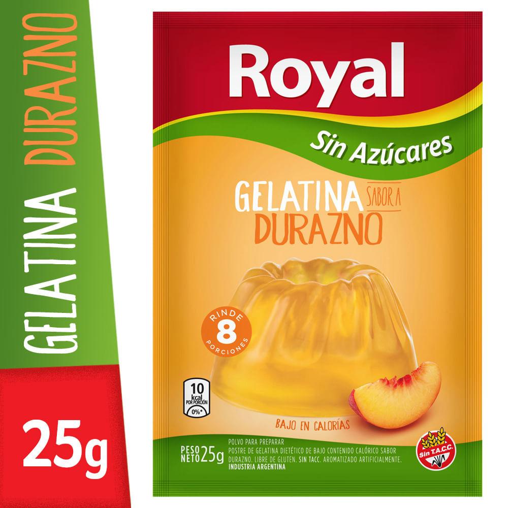 calorias gelatina dietetica
