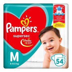 Pañales-Supersec-Hiperpack-M-Pampers-54un-1-386678