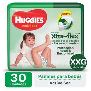 Pañales-Huggies-Active-Sec--Ultra-Xxg34u-1-470345