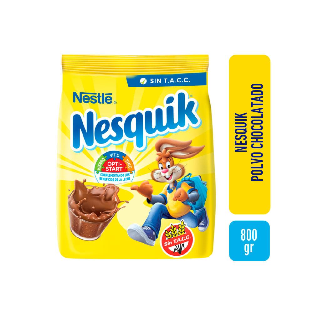 Cacao En Polvo Nesquik 800gr Walmart Walmartar