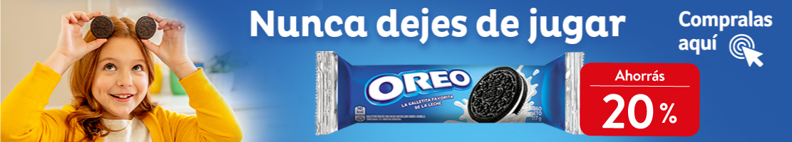 Oreo galletitas - Hasta el 28/10